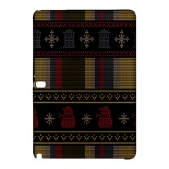 Tardis Doctor Who Ugly Holiday Samsung Galaxy Tab Pro 10 1 Hardshell Case by Onesevenart