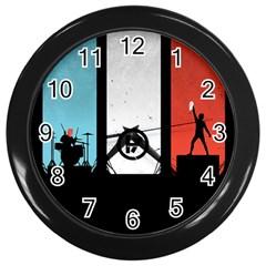 Twenty One 21 Pilots Wall Clocks (black) by Onesevenart
