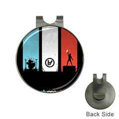 Twenty One 21 Pilots Hat Clips With Golf Markers by Onesevenart
