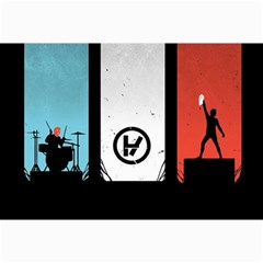 Twenty One 21 Pilots Collage Prints by Onesevenart