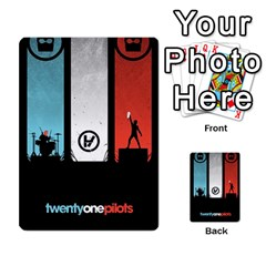 Twenty One 21 Pilots Multi Purpose Cards (rectangle)  by Onesevenart