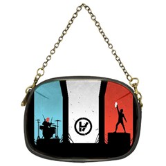 Twenty One 21 Pilots Chain Purses (two Sides)  by Onesevenart