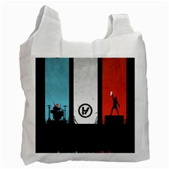 Twenty One 21 Pilots Recycle Bag (one Side) by Onesevenart