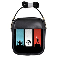 Twenty One 21 Pilots Girls Sling Bags by Onesevenart