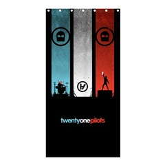 Twenty One 21 Pilots Shower Curtain 36  X 72  (stall)  by Onesevenart
