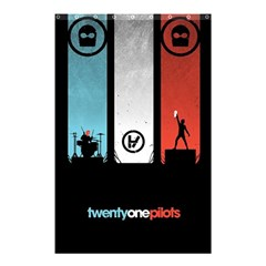 Twenty One 21 Pilots Shower Curtain 48  X 72  (small)  by Onesevenart