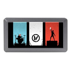 Twenty One 21 Pilots Memory Card Reader (mini) by Onesevenart