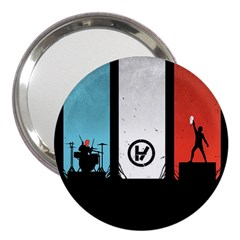 Twenty One 21 Pilots 3  Handbag Mirrors by Onesevenart
