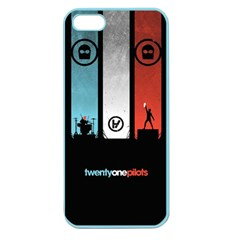 Twenty One 21 Pilots Apple Seamless Iphone 5 Case (color) by Onesevenart
