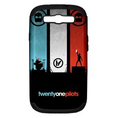 Twenty One 21 Pilots Samsung Galaxy S Iii Hardshell Case (pc+silicone) by Onesevenart