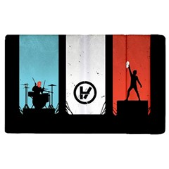 Twenty One 21 Pilots Apple Ipad 2 Flip Case by Onesevenart