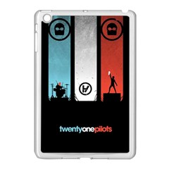 Twenty One 21 Pilots Apple Ipad Mini Case (white) by Onesevenart