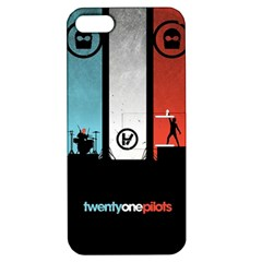 Twenty One 21 Pilots Apple Iphone 5 Hardshell Case With Stand by Onesevenart