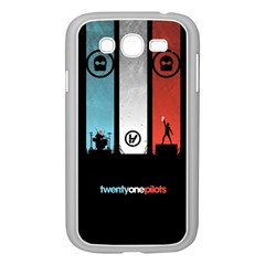 Twenty One 21 Pilots Samsung Galaxy Grand Duos I9082 Case (white) by Onesevenart