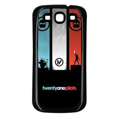 Twenty One 21 Pilots Samsung Galaxy S3 Back Case (black) by Onesevenart