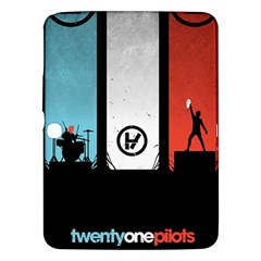 Twenty One 21 Pilots Samsung Galaxy Tab 3 (10 1 ) P5200 Hardshell Case  by Onesevenart