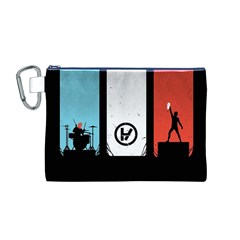 Twenty One 21 Pilots Canvas Cosmetic Bag (m) by Onesevenart