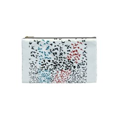 Twenty One Pilots Birds Cosmetic Bag (small)  by Onesevenart