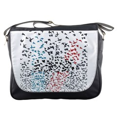 Twenty One Pilots Birds Messenger Bags by Onesevenart