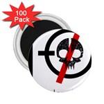 Twenty One Pilots Skull 2.25  Magnets (100 pack)