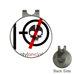 Twenty One Pilots Skull Hat Clips With Golf Markers by Onesevenart