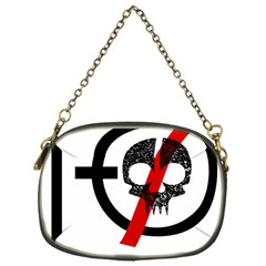 Twenty One Pilots Skull Chain Purses (one Side)  by Onesevenart