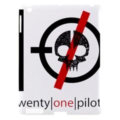 Twenty One Pilots Skull Apple Ipad 3/4 Hardshell Case (compatible With Smart Cover) by Onesevenart
