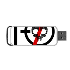 Twenty One Pilots Skull Portable Usb Flash (two Sides) by Onesevenart