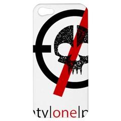 Twenty One Pilots Skull Apple Iphone 5 Hardshell Case by Onesevenart