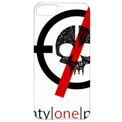 Twenty One Pilots Skull Apple Iphone 5 Classic Hardshell Case by Onesevenart