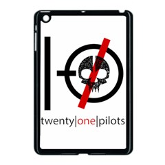 Twenty One Pilots Skull Apple Ipad Mini Case (black) by Onesevenart