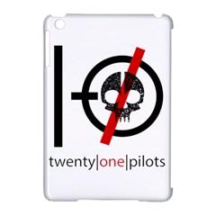 Twenty One Pilots Skull Apple Ipad Mini Hardshell Case (compatible With Smart Cover) by Onesevenart