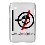 Twenty One Pilots Skull Samsung Galaxy Tab 2 (7 ) P3100 Hardshell Case