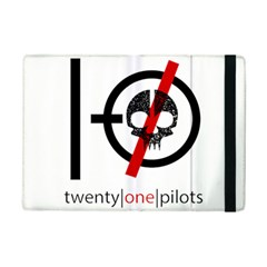 Twenty One Pilots Skull Ipad Mini 2 Flip Cases by Onesevenart