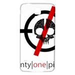 Twenty One Pilots Skull Samsung Galaxy S5 Back Case (White)