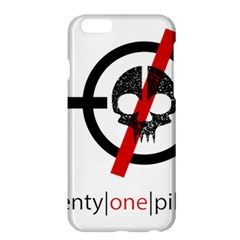 Twenty One Pilots Skull Apple Iphone 6 Plus/6s Plus Hardshell Case by Onesevenart