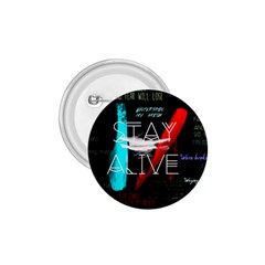 Twenty One Pilots Stay Alive Song Lyrics Quotes 1 75  Buttons by Onesevenart
