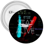 Twenty One Pilots Stay Alive Song Lyrics Quotes 3  Buttons
