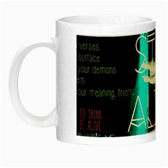 Twenty One Pilots Stay Alive Song Lyrics Quotes Night Luminous Mugs by Onesevenart
