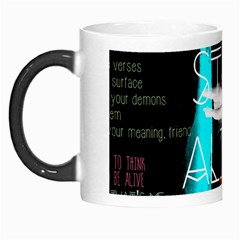 Twenty One Pilots Stay Alive Song Lyrics Quotes Morph Mugs by Onesevenart