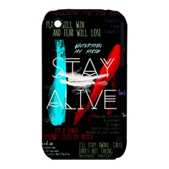 Twenty One Pilots Stay Alive Song Lyrics Quotes Apple Iphone 3g/3gs Hardshell Case (pc+silicone) by Onesevenart