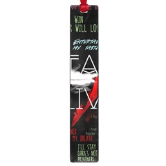 Twenty One Pilots Stay Alive Song Lyrics Quotes Large Book Marks by Onesevenart