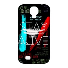 Twenty One Pilots Stay Alive Song Lyrics Quotes Samsung Galaxy S4 Classic Hardshell Case (pc+silicone) by Onesevenart