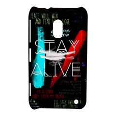 Twenty One Pilots Stay Alive Song Lyrics Quotes Nokia Lumia 620 by Onesevenart
