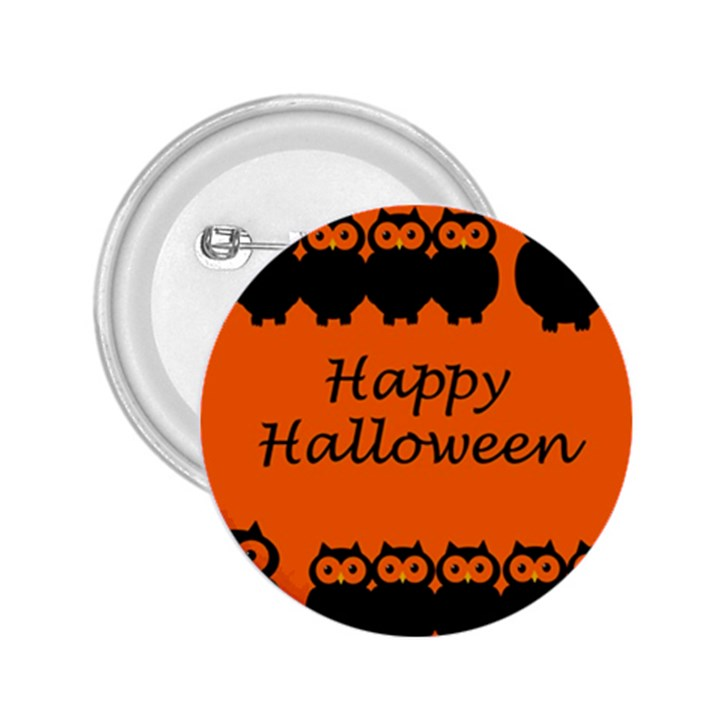 Happy Halloween - owls 2.25  Buttons