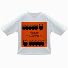 Happy Halloween   Owls Infant/toddler T Shirts