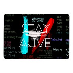 Twenty One Pilots Stay Alive Song Lyrics Quotes Samsung Galaxy Tab Pro 10 1  Flip Case by Onesevenart