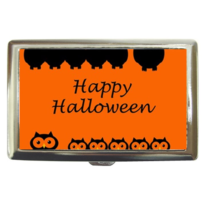 Happy Halloween - owls Cigarette Money Cases