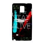 Twenty One Pilots Stay Alive Song Lyrics Quotes Samsung Galaxy Note 4 Hardshell Case