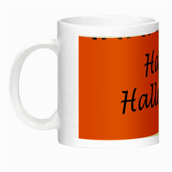 Happy Halloween - owls Night Luminous Mugs